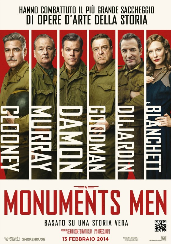 Monuments Men in streaming