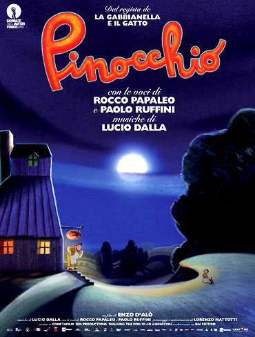 Pinocchio in streaming
